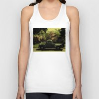 old school Tank Tops featuring Old School by IRIS Photo & Design