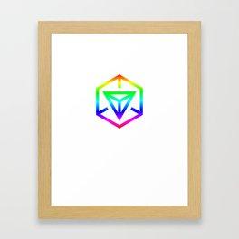 Queergress Framed Art Print