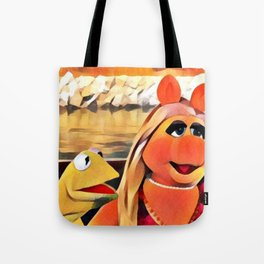 Kermit & Miss Piggy Tote Bag