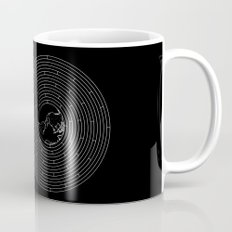 I Dream To Explore The World (Black) Mug