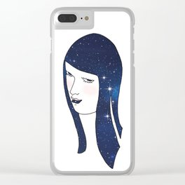 I See Stars Clear iPhone Case