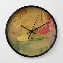 Mundos perdidos Wall Clock