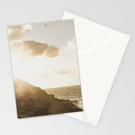 Autumn Sunshine, Pentire, Newquay, Cornwall. Stationery Cards