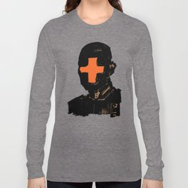 The Face Of The Leader Long Sleeve T-shirt