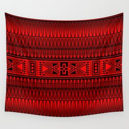 The Gathering (Red) Wall Tapestry