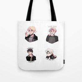 MIC DROP: V, JIN, JIMIN & SUGA Tote Bag
