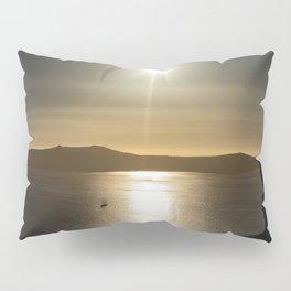 Sunset over Santorini Pillow Sham