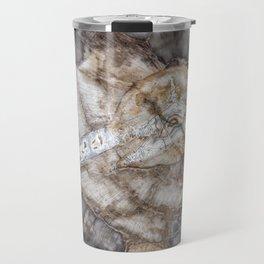 Petrified wood 3266 Travel Mug