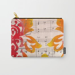 Wild Damask Carry-All Pouch