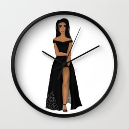 Night Court Fashion Wall Clock