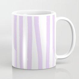 Lavender Stripes Coffee Mug