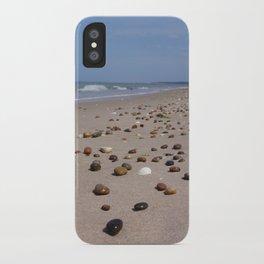 Shiney Stoney Beach - Nairn Scotland - Stones iPhone Case