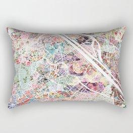 Vienna map Rectangular Pillow