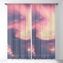 Space Explorer No8 Sheer Curtain