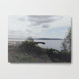 Seattle Waters Metal Print