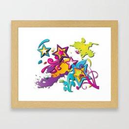 Crazy World Framed Art Print