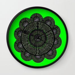 Flower Dayz Wall Clock
