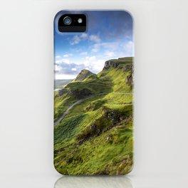 The Quiraing at Sunrise II iPhone Case