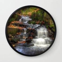 Bentley Brook waterfall Wall Clock
