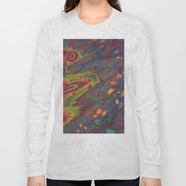 Paint Pouring 68 Long Sleeve T-shirt