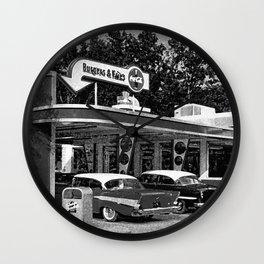 The Good Ole Days Wall Clock