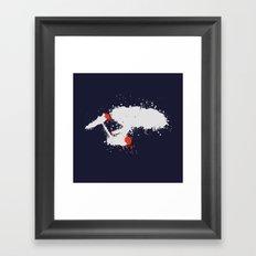 Splatter Enterprise Framed Art Print