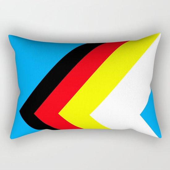 A Wrong Turn Rectangular Pillow