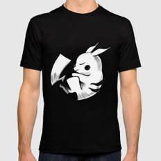 Pika Mens Fitted Tee SMALL Black