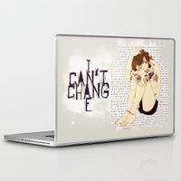 """lyrics Laptop & iPad Skins featuring """" Lyrics """" by Karu Kara"""