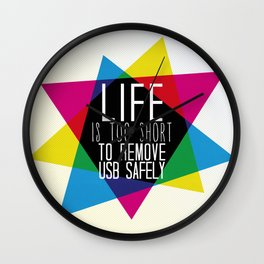 USB Wall Clock