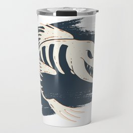 Fish Skull / Skeleton Travel Mug