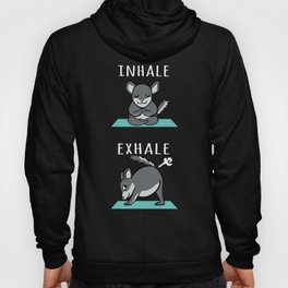 Chinchilla Yoga Inhale Exhale Hoody