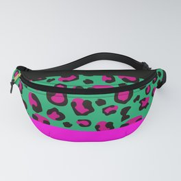 Urban Jungle - Leopard Pattern Pink Fanny Pack