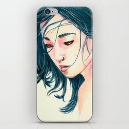 East Wind Girl iPhone Skin