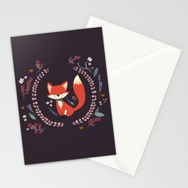 Cute Little Fox Stationery Cards
