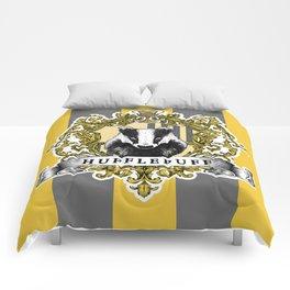Hufflepuff Color Comforters