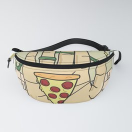 Pizza Reading Fanny Pack