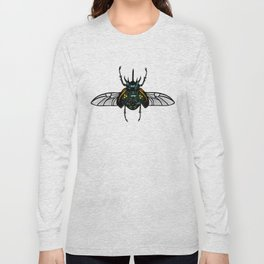 Rhino Beetle Long Sleeve T-shirt
