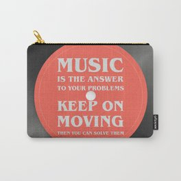Music is the answer to your problems, dj gift Carry-All Pouch