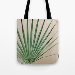 Peachy Palm with Stem Tote Bag
