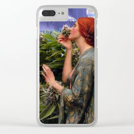 Happy Weedkend II Clear iPhone Case