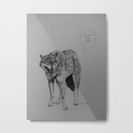 Bitchbag! Metal Print
