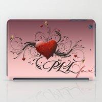 pretty little liars iPad Cases featuring Pretty Little Liars fan heart by MaNia Creations