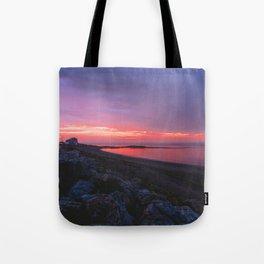 Sunset in Gaspésie Tote Bag