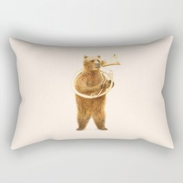 The Bear and his Helicon Rectangular Pillow