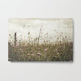Wildflowers pt.3 Metal Print