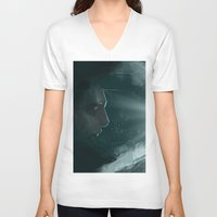 abyss V-neck T-shirts featuring Abyss by Gaetano Caltabiano Design