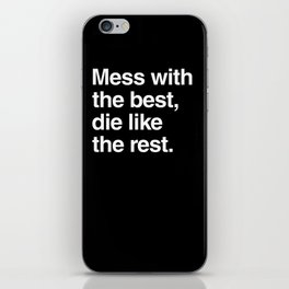 Hackers iPhone Skin