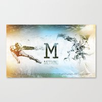 metroid Canvas Prints featuring Metroid by Alexander Pohl