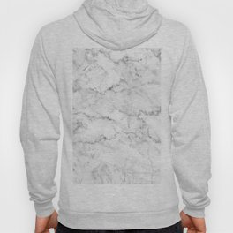 White marble gray accents Hoody